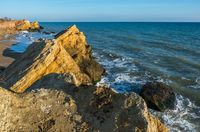 Rocks near the Black Sea coast