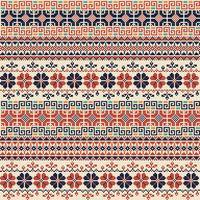 Palestinian embroidery pattern 151
