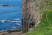 Fingal's cave from top of Staffa