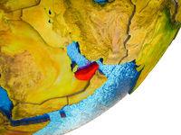 United Arab Emirates on 3D Earth