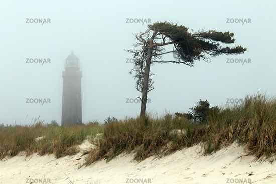 Lighthouse 003. Fischland Darss Zingst. Germany