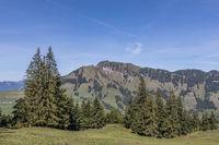 View of the Stanserhorn, Wirzweli, Nidwalden, Switzerland, Europe