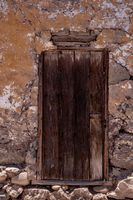 old door in an old house