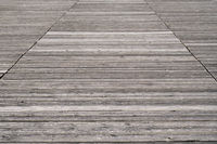weathered old wooden boardwalk background