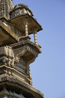 Vitthal Temple at Palashi, Parner, Ahmednagar, cascade balcony carved on the shikhara in stone masonry