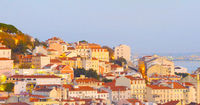 Lisbon panorama Old Town Portugal
