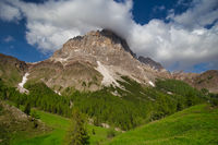Mountain landscape in the Alps