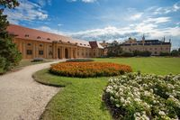 State chateau Lednice in South Moravia, Czech Republic