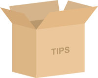 Tipping Box Vector
