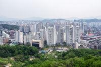 view of seoul city