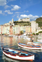 Porto Venere at italian Riviera,Liguria,Italy