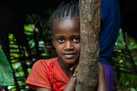 Young Ethiopian girl portrait