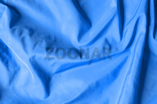Blue satin background texture
