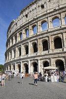 Colosseum, amphitheatre, Rome, Italy, Europe