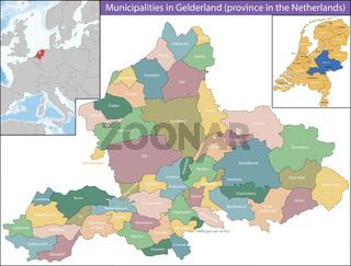 Gelderland is a province of the Netherlands