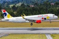 Vivaair Airbus A320 airplane Medellin airport