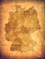 Old Germany map