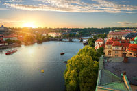 Prague and River Vltava