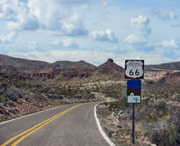 Historic Route 66 in Arizona