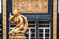 Jewellery fountain in the bathhouse 2 of the Art Nouveau spa Bad Nauheim
