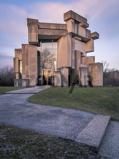 Modern church at vienna