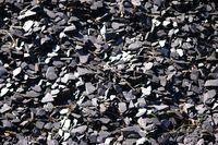 Piled slate