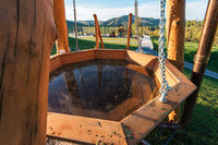 Bathing, spa and relax in the mountain