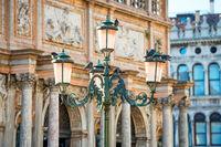 Lantern at Piazza San Marco