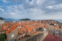 Basketball court of Dubrovnik Old Town