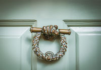 English Ornate Door Knocker