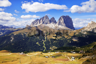 Dolomites mountains landscape