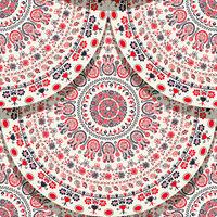 Hungarian motif tile 15