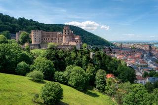 Stadtansicht von Heidelberg in Deutschland