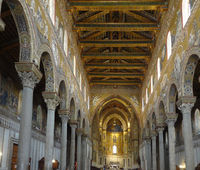 Interior of Monreale Cathedral