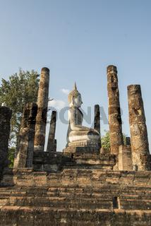 ASIA THAILAND SUKHOTHAI WAT MAHATHAT TEMPLE