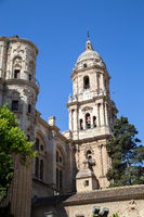 Cathedral in Malaga, Spain