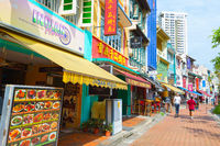 Boat Quay  restaurants street  Singapore