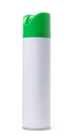 Blank aerosol spray  bottle