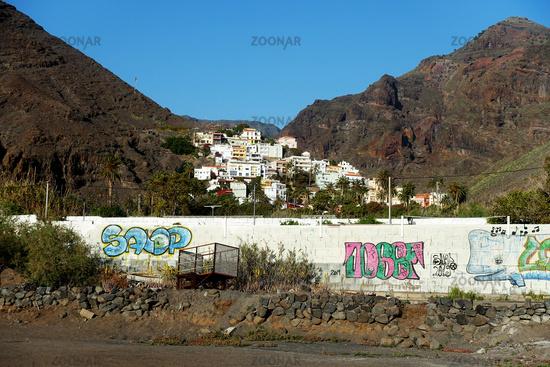 Look to Valle Gran Rey, La Gomera