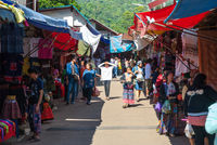 Local market at Hmong Village, Thailand