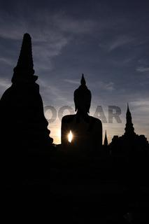 ASIA THAILAND SUKHOTHAI TEMPLE