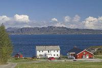 Farm at Trondheimfjorden