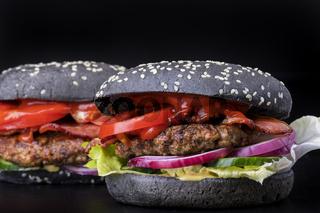schwarzer Hamburger