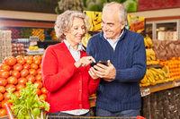 Smartphone App zur Information über Lebensmittel