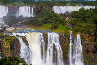 Waterfalls Iguazu - recognized miracle of the world