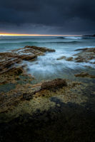 Moody morning at Cronulla Beach