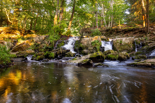 Der Selkewasserfall im Harz