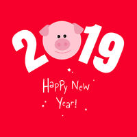 2019 New Year Card