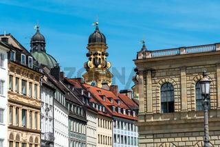 Renovierte Altbauten in München