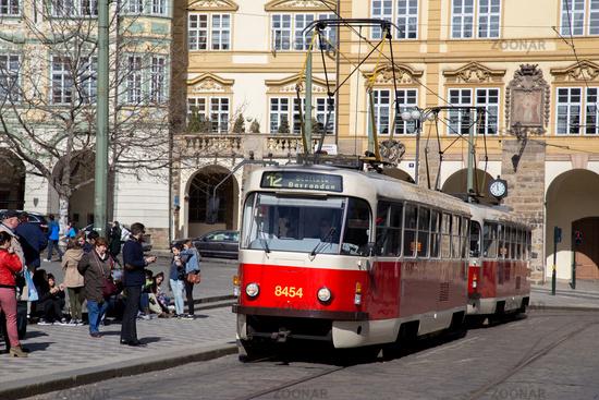 Old Tramway in Prague